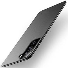 Hard Rigid Plastic Matte Finish Case Back Cover M01 for Samsung Galaxy S21 Plus 5G Black