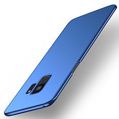 Hard Rigid Plastic Matte Finish Case Back Cover M01 for Samsung Galaxy S9 Blue