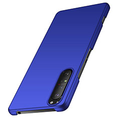 Hard Rigid Plastic Matte Finish Case Back Cover M01 for Sony Xperia 1 II Blue