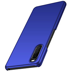 Hard Rigid Plastic Matte Finish Case Back Cover M01 for Sony Xperia 10 II Blue