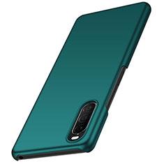 Hard Rigid Plastic Matte Finish Case Back Cover M01 for Sony Xperia 10 II Green