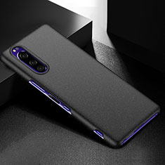 Hard Rigid Plastic Matte Finish Case Back Cover M01 for Sony Xperia 5 Black