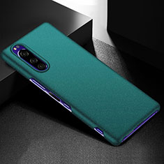Hard Rigid Plastic Matte Finish Case Back Cover M01 for Sony Xperia 5 Green