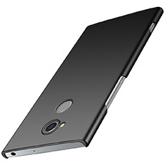 Hard Rigid Plastic Matte Finish Case Back Cover M01 for Sony Xperia XA2 Plus Black