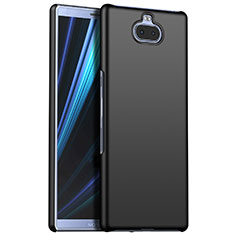 Hard Rigid Plastic Matte Finish Case Back Cover M01 for Sony Xperia XA3 Black