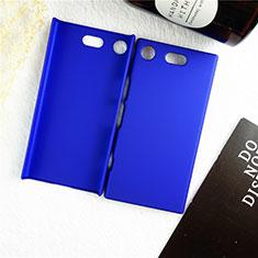 Hard Rigid Plastic Matte Finish Case Back Cover M01 for Sony Xperia XZ1 Compact Blue