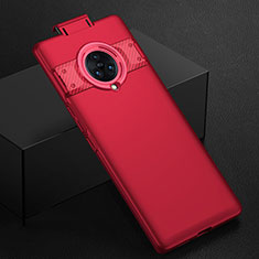 Hard Rigid Plastic Matte Finish Case Back Cover M01 for Vivo Nex 3 Red