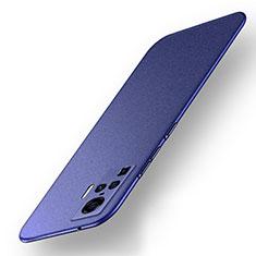 Hard Rigid Plastic Matte Finish Case Back Cover M01 for Vivo X50 Pro 5G Blue