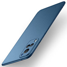 Hard Rigid Plastic Matte Finish Case Back Cover M01 for Vivo X60 5G Blue