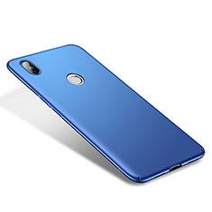 Hard Rigid Plastic Matte Finish Case Back Cover M01 for Xiaomi Mi 8 Blue