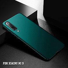 Hard Rigid Plastic Matte Finish Case Back Cover M01 for Xiaomi Mi 9 Green