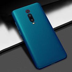 Hard Rigid Plastic Matte Finish Case Back Cover M01 for Xiaomi Mi 9T Blue