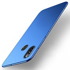 Hard Rigid Plastic Matte Finish Case Back Cover M01 for Xiaomi Mi Max 3 Blue