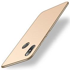 Hard Rigid Plastic Matte Finish Case Back Cover M01 for Xiaomi Mi Mix 2S Gold
