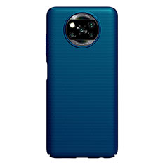 Hard Rigid Plastic Matte Finish Case Back Cover M01 for Xiaomi Poco X3 NFC Blue
