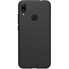 Hard Rigid Plastic Matte Finish Case Back Cover M01 for Xiaomi Redmi 7 Black