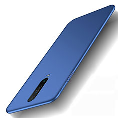 Hard Rigid Plastic Matte Finish Case Back Cover M01 for Xiaomi Redmi K30 5G Blue