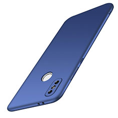Hard Rigid Plastic Matte Finish Case Back Cover M01 for Xiaomi Redmi Note 5 AI Dual Camera Blue