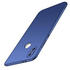 Hard Rigid Plastic Matte Finish Case Back Cover M01 for Xiaomi Redmi Note 5 Blue