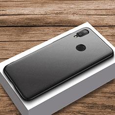 Hard Rigid Plastic Matte Finish Case Back Cover M01 for Xiaomi Redmi Note 7 Black