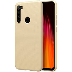 Hard Rigid Plastic Matte Finish Case Back Cover M01 for Xiaomi Redmi Note 8 Gold