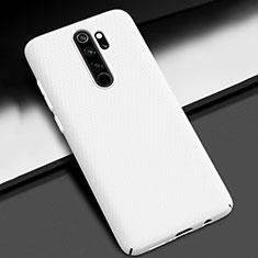 Hard Rigid Plastic Matte Finish Case Back Cover M01 for Xiaomi Redmi Note 8 Pro White
