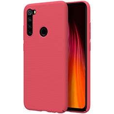 Hard Rigid Plastic Matte Finish Case Back Cover M01 for Xiaomi Redmi Note 8 Red