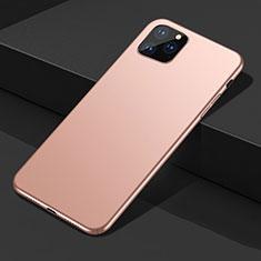 Hard Rigid Plastic Matte Finish Case Back Cover M02 for Apple iPhone 11 Pro Gold