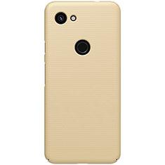 Hard Rigid Plastic Matte Finish Case Back Cover M02 for Google Pixel 3a Gold