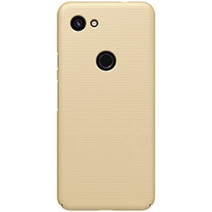 Hard Rigid Plastic Matte Finish Case Back Cover M02 for Google Pixel 3a XL Gold