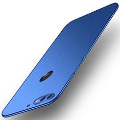 Hard Rigid Plastic Matte Finish Case Back Cover M02 for Huawei Enjoy 8 Blue