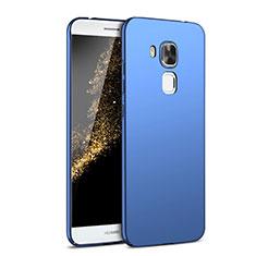 Hard Rigid Plastic Matte Finish Case Back Cover M02 for Huawei G9 Plus Blue