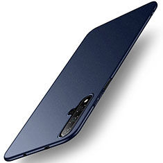 Hard Rigid Plastic Matte Finish Case Back Cover M02 for Huawei Honor 20 Blue
