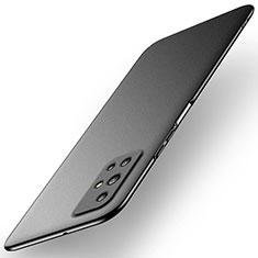Hard Rigid Plastic Matte Finish Case Back Cover M02 for Huawei Honor 30S Black