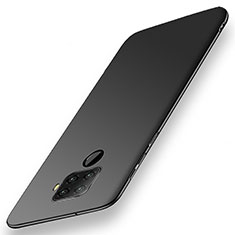 Hard Rigid Plastic Matte Finish Case Back Cover M02 for Huawei Mate 30 Lite Black