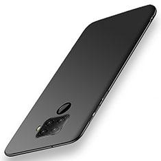 Hard Rigid Plastic Matte Finish Case Back Cover M02 for Huawei Nova 5z Black