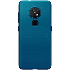 Hard Rigid Plastic Matte Finish Case Back Cover M02 for Nokia 6.2 Blue