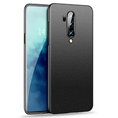 Hard Rigid Plastic Matte Finish Case Back Cover M02 for OnePlus 7T Pro 5G Black