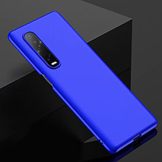 Hard Rigid Plastic Matte Finish Case Back Cover M02 for Oppo Find X2 Pro Blue