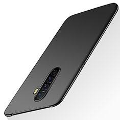 Hard Rigid Plastic Matte Finish Case Back Cover M02 for Realme X2 Pro Black