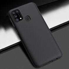 Hard Rigid Plastic Matte Finish Case Back Cover M02 for Samsung Galaxy M21s Black