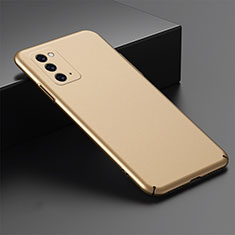 Hard Rigid Plastic Matte Finish Case Back Cover M02 for Samsung Galaxy Note 20 5G Gold