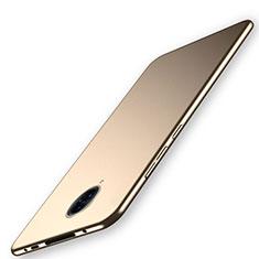 Hard Rigid Plastic Matte Finish Case Back Cover M02 for Vivo Nex 3S Gold