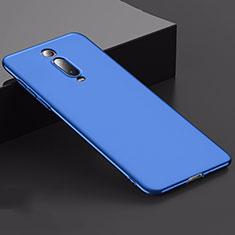Hard Rigid Plastic Matte Finish Case Back Cover M02 for Xiaomi Mi 9T Blue