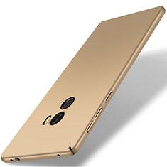 Hard Rigid Plastic Matte Finish Case Back Cover M02 for Xiaomi Mi Mix Gold