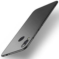 Hard Rigid Plastic Matte Finish Case Back Cover M02 for Xiaomi Redmi Note 7 Black