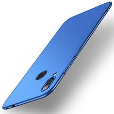 Hard Rigid Plastic Matte Finish Case Back Cover M02 for Xiaomi Redmi Note 7 Pro Blue