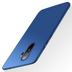 Hard Rigid Plastic Matte Finish Case Back Cover M02 for Xiaomi Redmi Note 8 Pro Blue