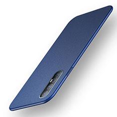 Hard Rigid Plastic Matte Finish Case Back Cover M03 for Oppo Find X2 Neo Blue
