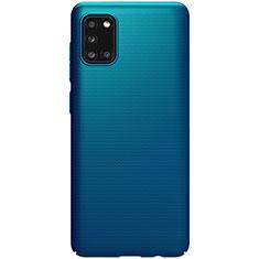 Hard Rigid Plastic Matte Finish Case Back Cover M03 for Samsung Galaxy A31 Blue